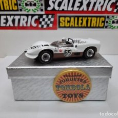 Slot Cars: CHAPARRAL 2 ROAD AMERICA VERSION N°65# REVELL/MONOGRAM SCALEXTRIC. Lote 224924297
