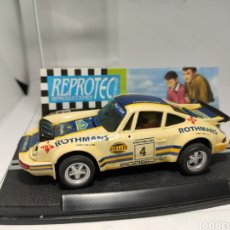 Slot Cars: REPROTEC PORSCHE 911 CARRERA RS ROTHMANS SCALEXTRIC REF. 5032. Lote 225293022