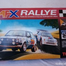 Slot Cars: AFX RALLYE ( COMPLETO) MARCA ( TOMY). Lote 225500210