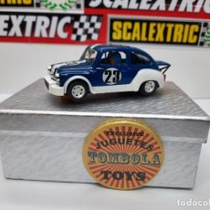 Slot Cars: FIAT ABARTH 1000 TCR #23 ( REPROTEC ) SCALEXTRIC. Lote 225522300