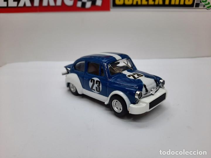 Slot Cars: FIAT ABARTH 1000 TCR #23 ( REPROTEC ) SCALEXTRIC - Foto 7 - 225522300