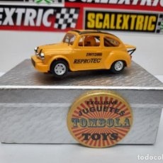 Slot Cars: FIAT ABARTH REPROTEC 1997/2000 3ER ANIVERSARIO ( SCALEXTRIC ). Lote 225522642
