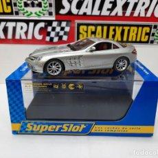Slot Cars: MERCEDES BENZ SLR MC LAREN SUPERSLOT SCALEXTRIC CON LUCES!!. Lote 225630175
