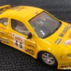 Slot Cars: COCHE DE SLOT RENAULT MEGANE ALIGERADO DESGUACE. Lote 225932545