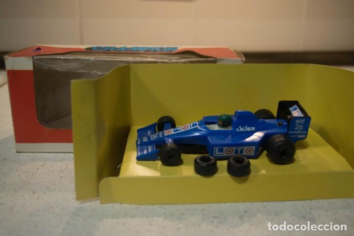 Slot Cars: Ligier Loto JS33B Ford 1990 Philippe Alliot #26 Polistil Champion en caja - Foto 2 - 226143942
