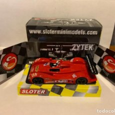 Slot Cars: SCALEXTRIC BARQUETA ZYTEC SLOTER. Lote 227202945