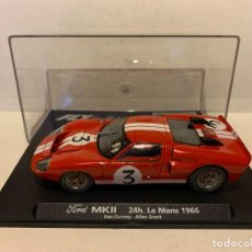 Slot Cars: SCALEXTRIC FORD MKII 24H LE MANS DE FLY REF-88091. Lote 227204515