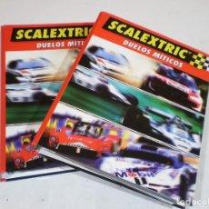 Slot Cars: LOTE 2 TOMOS, DUELOS MITICOS DE ALTAYA, COMPLETA.. Lote 227616650