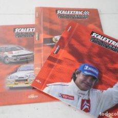 Slot Cars: 3 TOMOS PARA ENCUADERNAR,CARLOS SAINZ DE ALTAYA, COMPLETA.. Lote 227617885