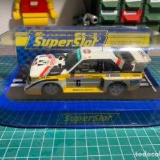Slot Cars: SUPERSLOT AUDI QUATTRO S1. Lote 227673300