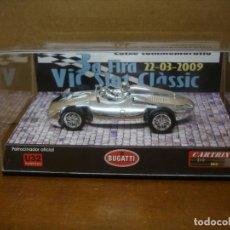 Slot Cars: CARTRIX BUGATTI FIRA VIC 2009 REF 0014 NUMERO 64 DE 200 NUEVO. Lote 227677490