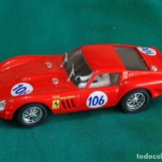 Slot Cars: FERRARI 250 GTO PINK CAR. Lote 227932465