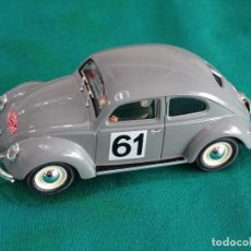 Slot Cars: VW BEETLE PINK CAR. Lote 227932780