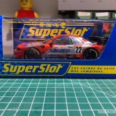 Slot Cars: SUPERSLOT NISSAN SKYLINE. Lote 227965975