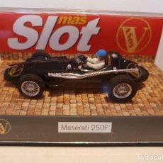 Slot Cars: MASERATI 250 F CARTRIX EDICION ESPECIAL MAS SLOT REF.-0012. Lote 228004125