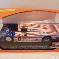 Slot Cars: PORSCHE 956C-ERD LE MANS 1986 REF.-SICA02C SLOT.IT. Lote 228004450