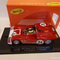Slot Cars: ALFA ROMEO 33/3 REF.-CA11A DE SLOT.IT. Lote 228004675