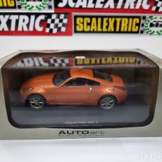 """Slot Cars: NISSAN FAIRLADY Z """" AUTOART """" SLOT RACING SCALEXTRIC CON LUCES!!!. Lote 228026640"""