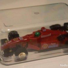 Slot Cars: RARO FERRARI 310 -VERSIÓN 1- SCHUMACHER 1AS CARRERAS 1996 -GP EUROPA-. Lote 228033402
