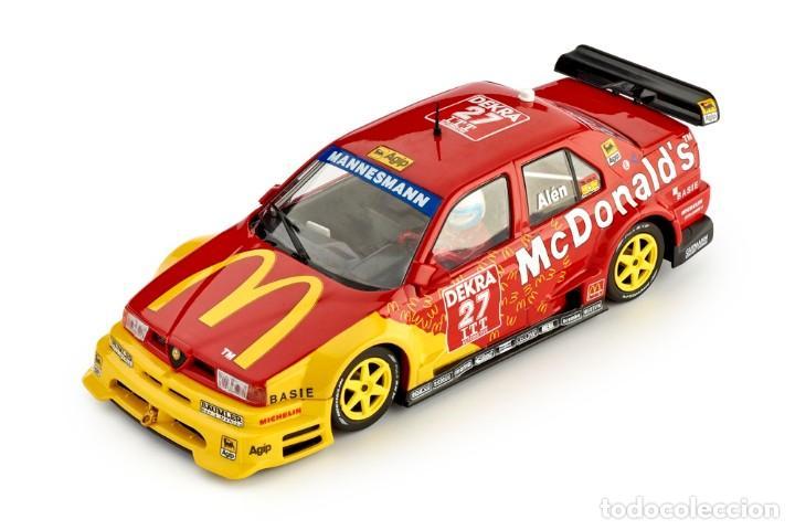 Slot Cars: SLOT.IT ALFA ROMEO 155 V6 TI #27 ITC HELSINKI 1995 MARKKU ALEN MCDONALD´S CA40B - Foto 3 - 228039820
