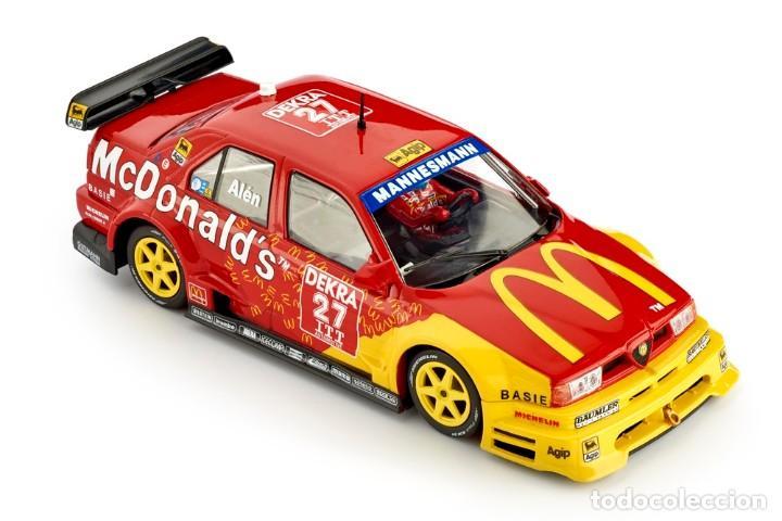 Slot Cars: SLOT.IT ALFA ROMEO 155 V6 TI #27 ITC HELSINKI 1995 MARKKU ALEN MCDONALD´S CA40B - Foto 4 - 228039820