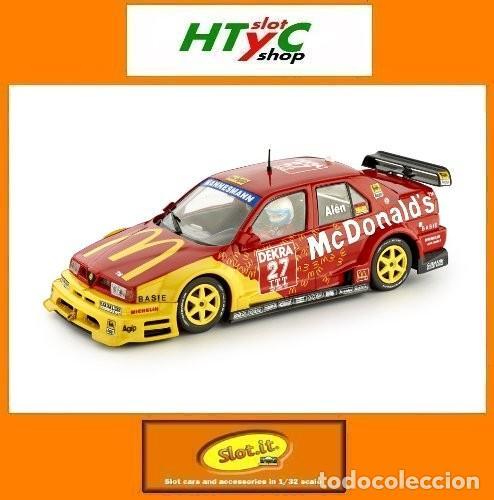 SLOT.IT ALFA ROMEO 155 V6 TI #27 ITC HELSINKI 1995 MARKKU ALEN MCDONALD´S CA40B (Juguetes - Slot Cars - Magic Cars y Otros)