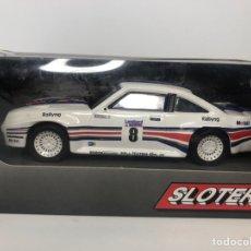 Slot Cars: OPEL MANTA ROTHMANS REF 430103 SLOTER. Lote 228041690