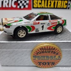 "Slot Cars: TOYOTA CELICA "" CASTROL"" SCALEXTRIC. Lote 228043750"