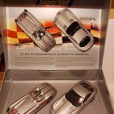 Slot Cars: PACK MERCEDES-BENZ MILLE MIGLIA 1955 DE SUPERSLOT REF.-H2783A. Lote 228168595