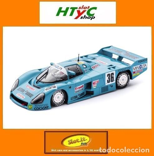 SLOT.IT TOYOTA 86C #36 LYPTON 24 HS LE MANS 1986 LEES / SEKIYA / NAKAYIMA CA41A (Juguetes - Slot Cars - Magic Cars y Otros)