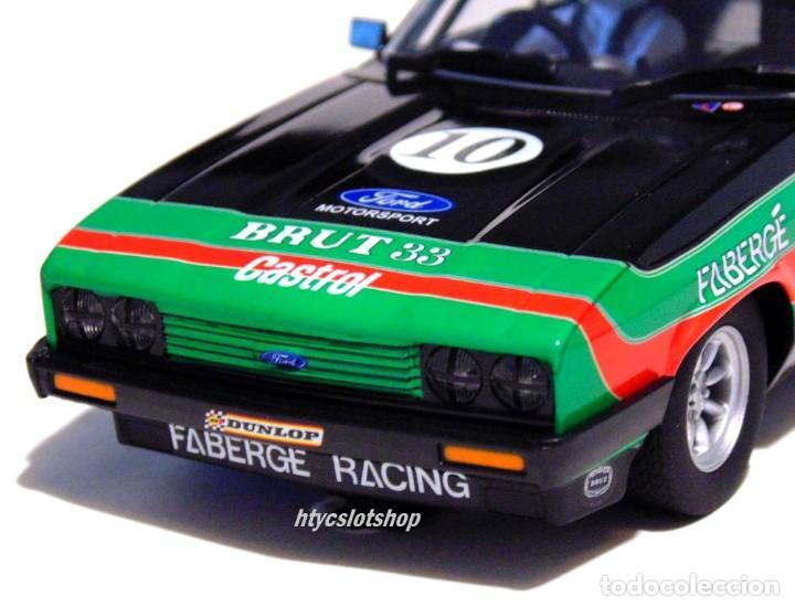 Slot Cars: SUPERSLOT FORD CAPRI MK3 #10 STUART GRAHAM CASTROL FABERGE BRUT 33 SCALEXTRIC UK H4101 - Foto 8 - 228628725