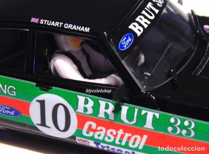 Slot Cars: SUPERSLOT FORD CAPRI MK3 #10 STUART GRAHAM CASTROL FABERGE BRUT 33 SCALEXTRIC UK H4101 - Foto 9 - 228628725