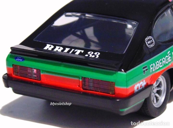 Slot Cars: SUPERSLOT FORD CAPRI MK3 #10 STUART GRAHAM CASTROL FABERGE BRUT 33 SCALEXTRIC UK H4101 - Foto 10 - 228628725