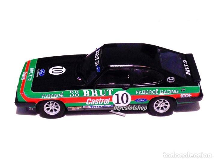 Slot Cars: SUPERSLOT FORD CAPRI MK3 #10 STUART GRAHAM CASTROL FABERGE BRUT 33 SCALEXTRIC UK H4101 - Foto 3 - 228628725