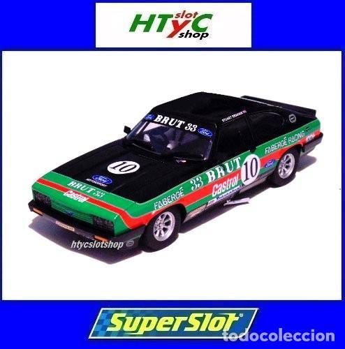 SUPERSLOT FORD CAPRI MK3 #10 STUART GRAHAM CASTROL FABERGE BRUT 33 SCALEXTRIC UK H4101 (Juguetes - Slot Cars - Magic Cars y Otros)