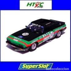 Slot Cars: SUPERSLOT FORD CAPRI MK3 #10 STUART GRAHAM CASTROL FABERGE BRUT 33 SCALEXTRIC UK H4101. Lote 228628725