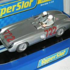 Slot Cars: MERCEDES 300 STIRLING MOSS SUPERSLOT/SCALEXTRIC NUEVO EN CAJA. Lote 228688795