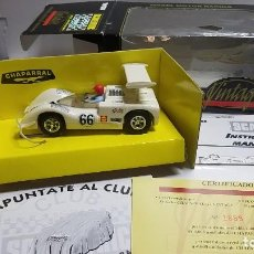 Slot Cars: SLOT SCALEXTRIC TYCO CHAPARRAL VINTAGE. Lote 228892447
