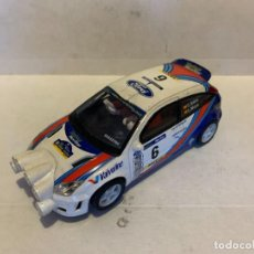 Slot Cars: SCALEXTRIC FORD FOCUS WRC CON LUZ. Lote 229691540