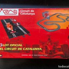 Slot Cars: L'SLOT OFICIAL DEL CIRCUIT DE CATALUNYA - COMPATIBLE SCALEXTRIC - BRAND NEW. Lote 230858205