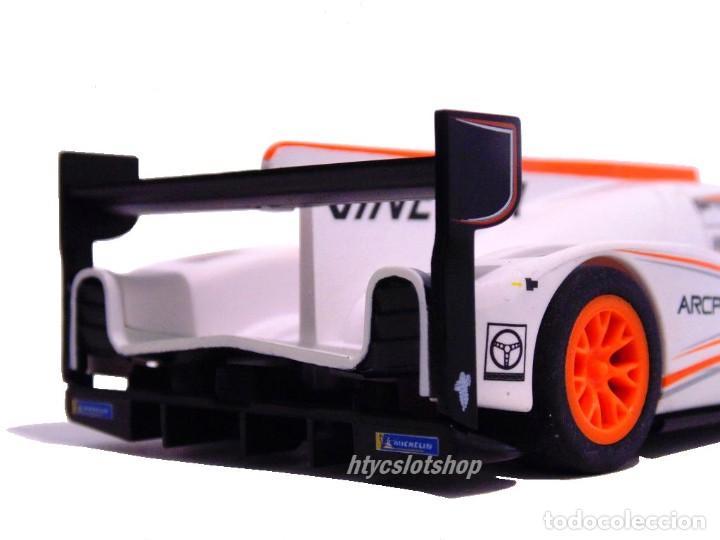 Slot Cars: SCALEXTRIC GINETTA G60-LT-P1 #14 WHITE / ORANGE SUPERSLOT H4061 - Foto 7 - 231399500
