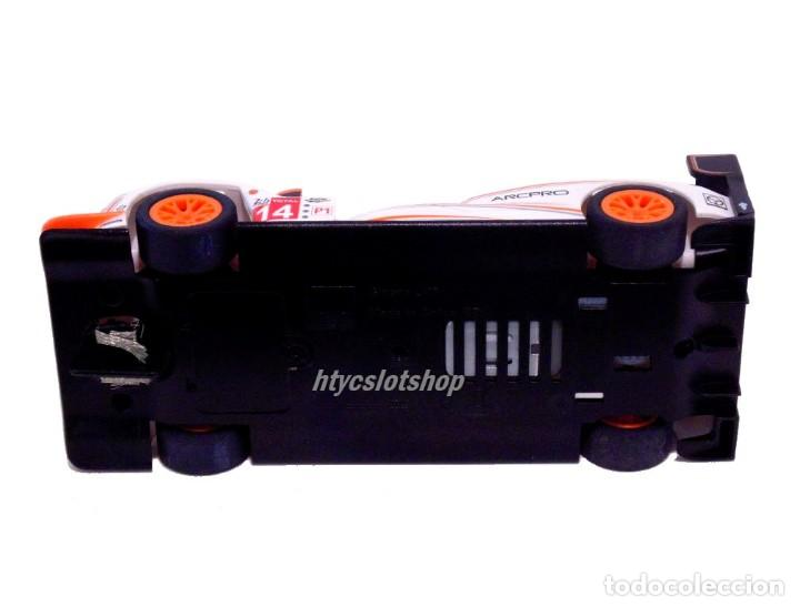 Slot Cars: SCALEXTRIC GINETTA G60-LT-P1 #14 WHITE / ORANGE SUPERSLOT H4061 - Foto 8 - 231399500