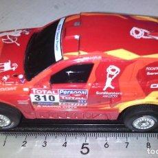 Slot Cars: NO COMPACT - CARRERA GO ESCALA 1/43 DESCATALOGAOO REF 61221 BMW X3 CC #310 RAID 2010, NOVITSKY. Lote 233033550