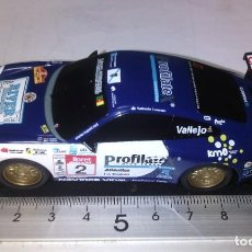 Slot Cars: SCALEXTRIC COMPACT DESCATALOGADO ESCALA 1/43 PORSCHE 911 GT3 #2 CABREIROA. Lote 233049280