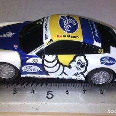 Slot Cars: SCALEXTRIC COMPACT DESCATALOGADO ESCALA 1/43 PORSCHE 911 GT3 CUP #33 MICHELIN GATES. Lote 233049528