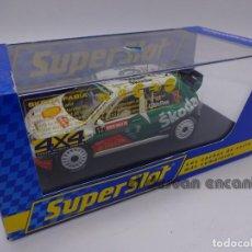 Slot Cars: SKODA FABIA WRC. COLIN MC RAE. CON LUZ. Lote 233123055