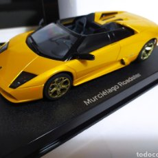 Slot Cars: LAMBORGHINI MURCIÉLAGO ROADSTER AUTOART/SCALEXTRIC. Lote 233298900