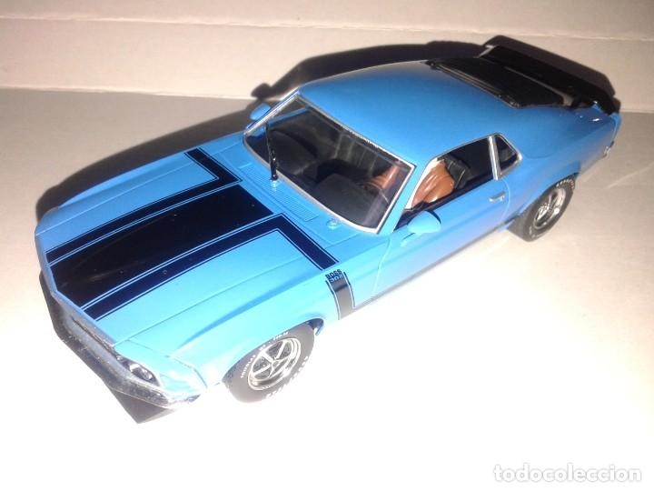 SCALEXTRIC - FORD MUSTANG BOSS 302 1970 - IMPECABLE - (Juguetes - Slot Cars - Magic Cars y Otros)