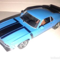 Slot Cars: SCALEXTRIC - FORD MUSTANG BOSS 302 1970 - IMPECABLE -. Lote 233921745