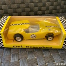 Slot Cars: POLY POLITOYS SLOT CAR MADE IN SPAIN LAMBORGHINI MIURA ESCALA 1/32. Lote 234898545